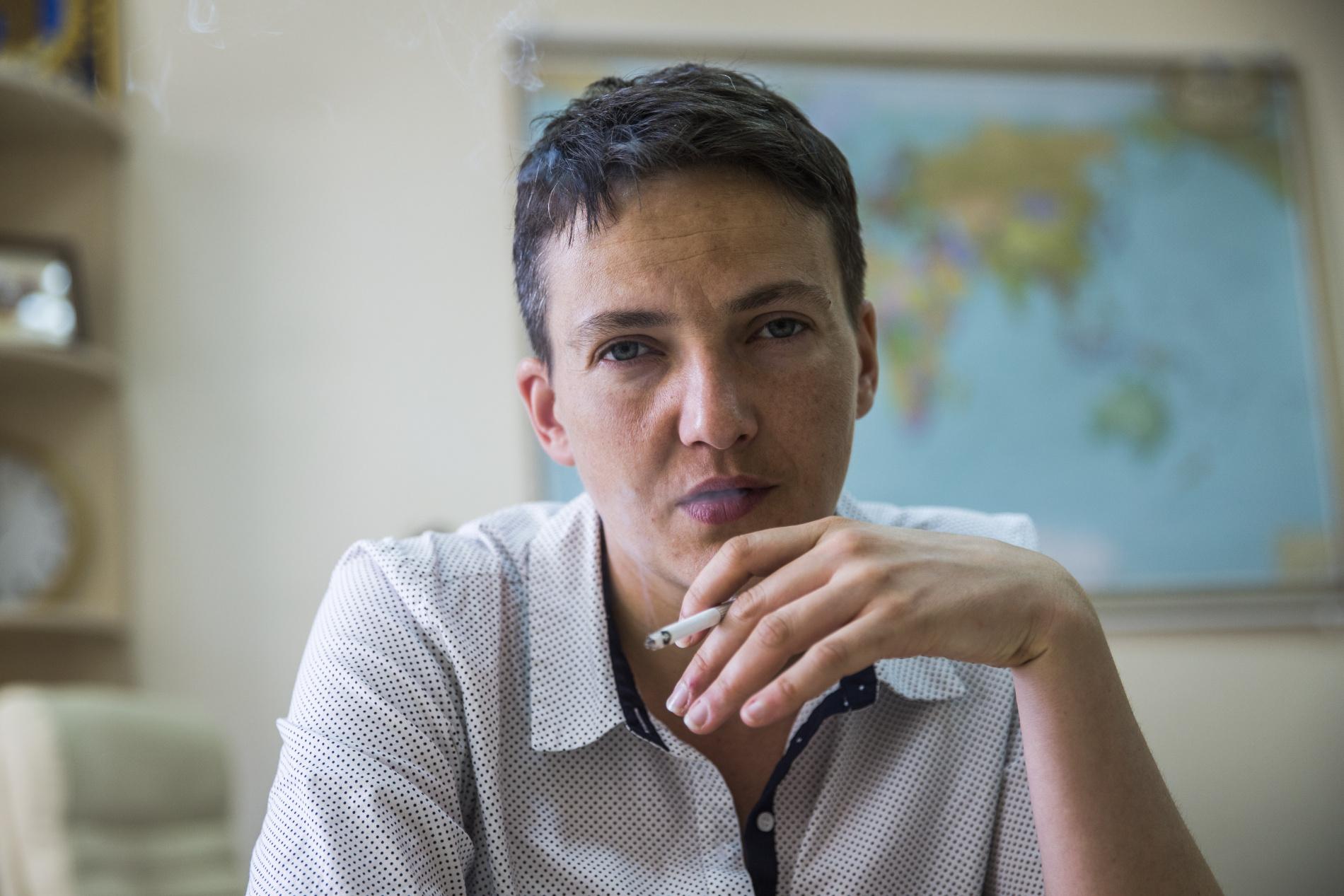 Истеричка: Надежда Савченко публично сделала еще одно громкое заявление про Крым