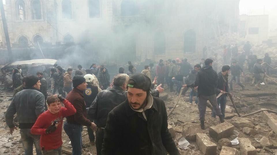 Кровавый теракт в Сирии унес жизни более 60 человек. Обнародованы шокирующие кадры мощного взрыва (ФОТО)