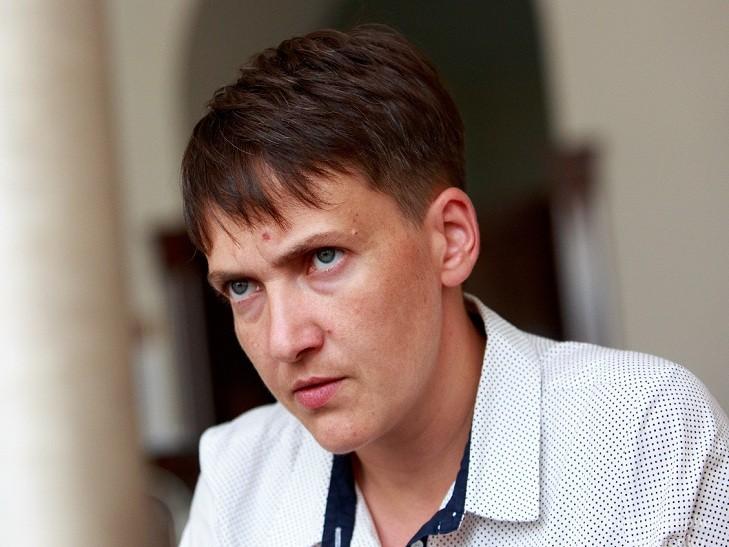 Савченко признала, что опубликовала устаревшие списки заложников «Л-ДНР»