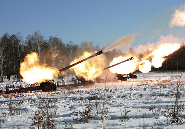 Старшна весть с востока: Террористы ударили «Градами» по отвоеванном ВСУ ОП «Алмаз»