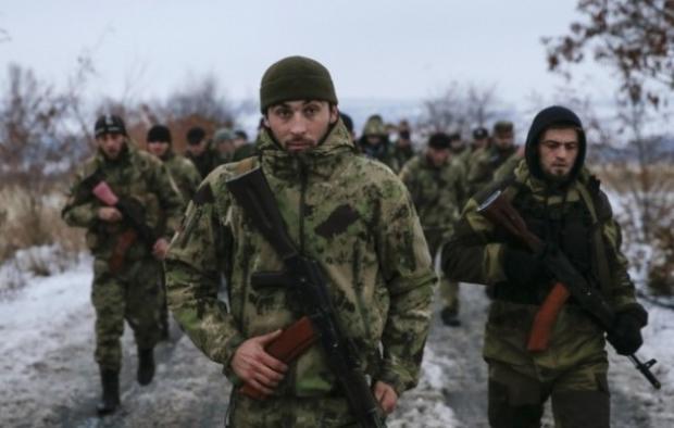 На Донбасс для обуздания боевиков завезли «кадыровцев»
