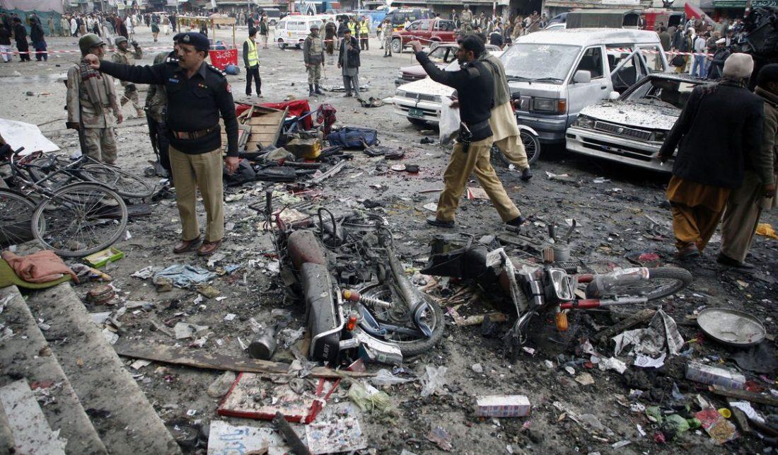 Количество жертв двойного взрыва в Кабуле увеличилось