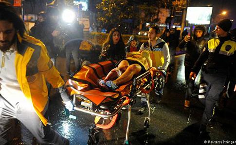 Теракт в Стамбуле: 39 жертв, из них 16 иностранцы