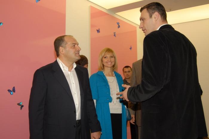 Новый ляп от Кличко: как столичный мэр оконфузился на ланче у Пинчука (ВИДЕО)