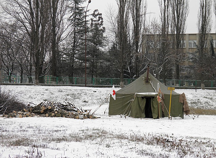 Киев готовит 30 пунктов обогрева в связи с прогнозируемыми морозами
