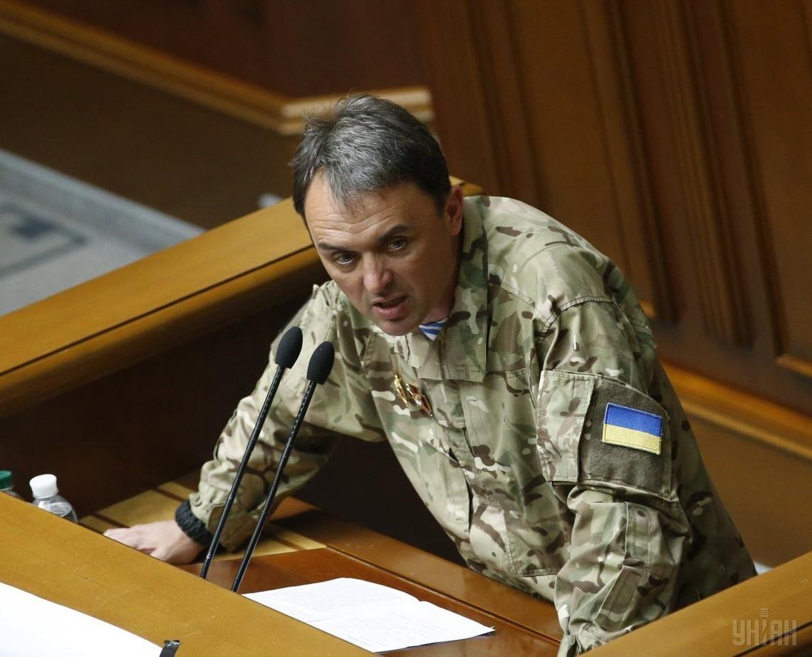 Нардеп Лапин пообещал «напоить» нардепов шампанским с «ДНР»