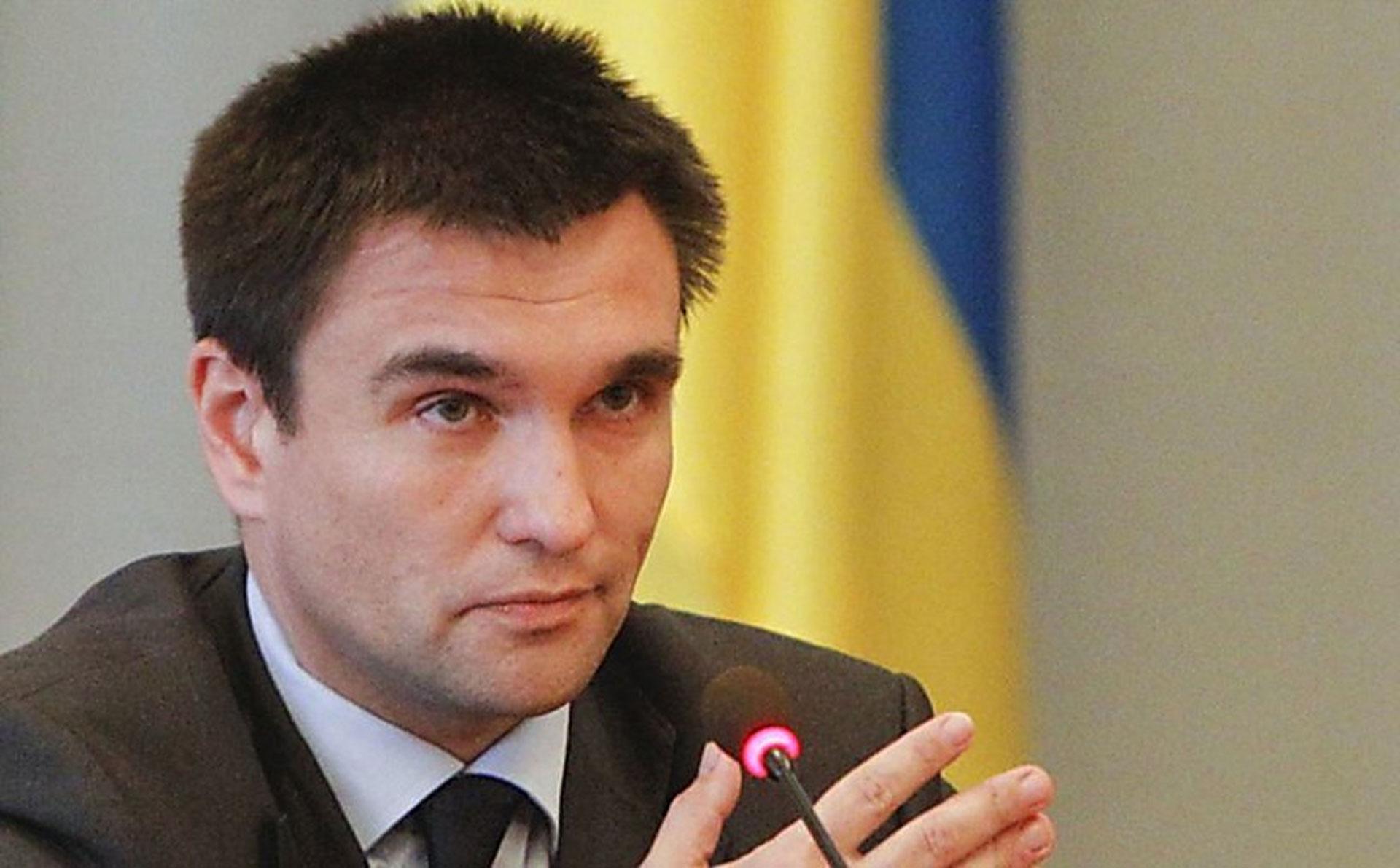 Климкин прокомментировал инцидент с уничтожением польского памятника на Львовщине