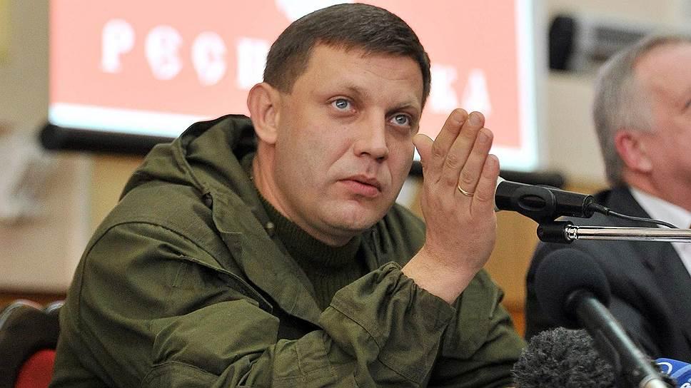 Глава НВФ «ДНР» Захарченко грозится глушить сигнал «Украинского радио»