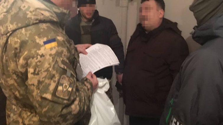 СБУ поймала полковников Дежприкордонслужби и ВСУ на взятке в $6 тыс.