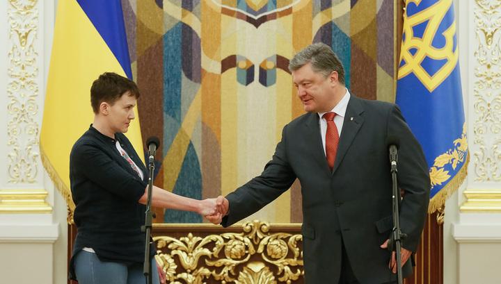 Двойное свидание от Савченко. Новый уровень переговоров