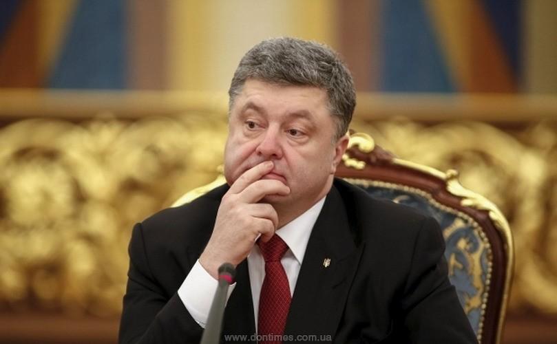Он вообще думает, что говорит?! Порошенко возмутил украинцев громким заявлением об отмене санкций для России