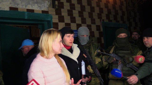 В сеть выложили подробности визита Савченко в Донецк (ВИДЕО)
