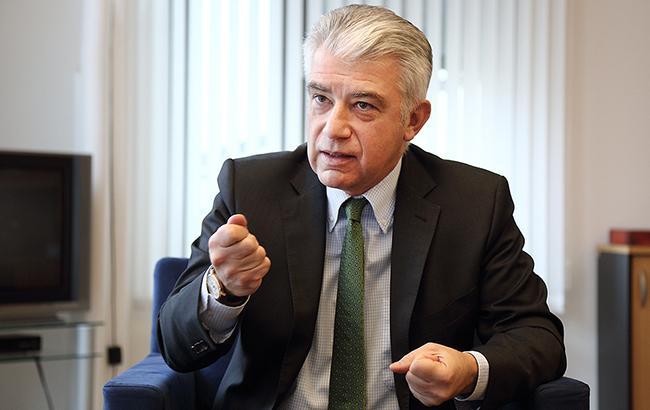Посол Германии Эрнст Райхель объяснил свое скандальное заявление о выборах в Донбассе
