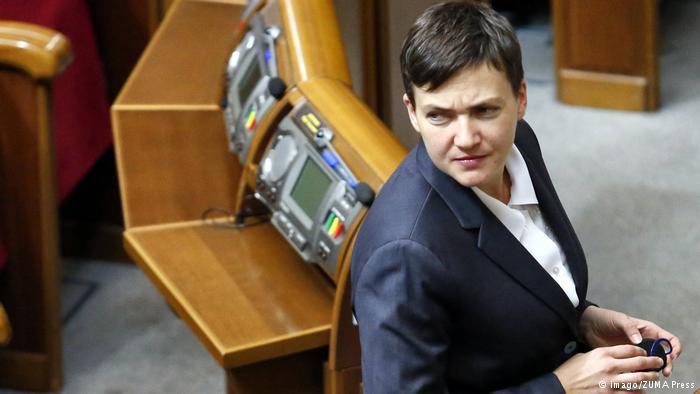 «Дефиле» от Савченко: как скандальная нардепка оконфузилась в Донецке (ВИДЕО)