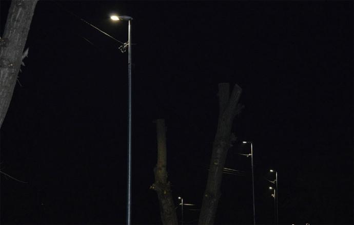 В Украине появился первый город с «умным» освещением улиц