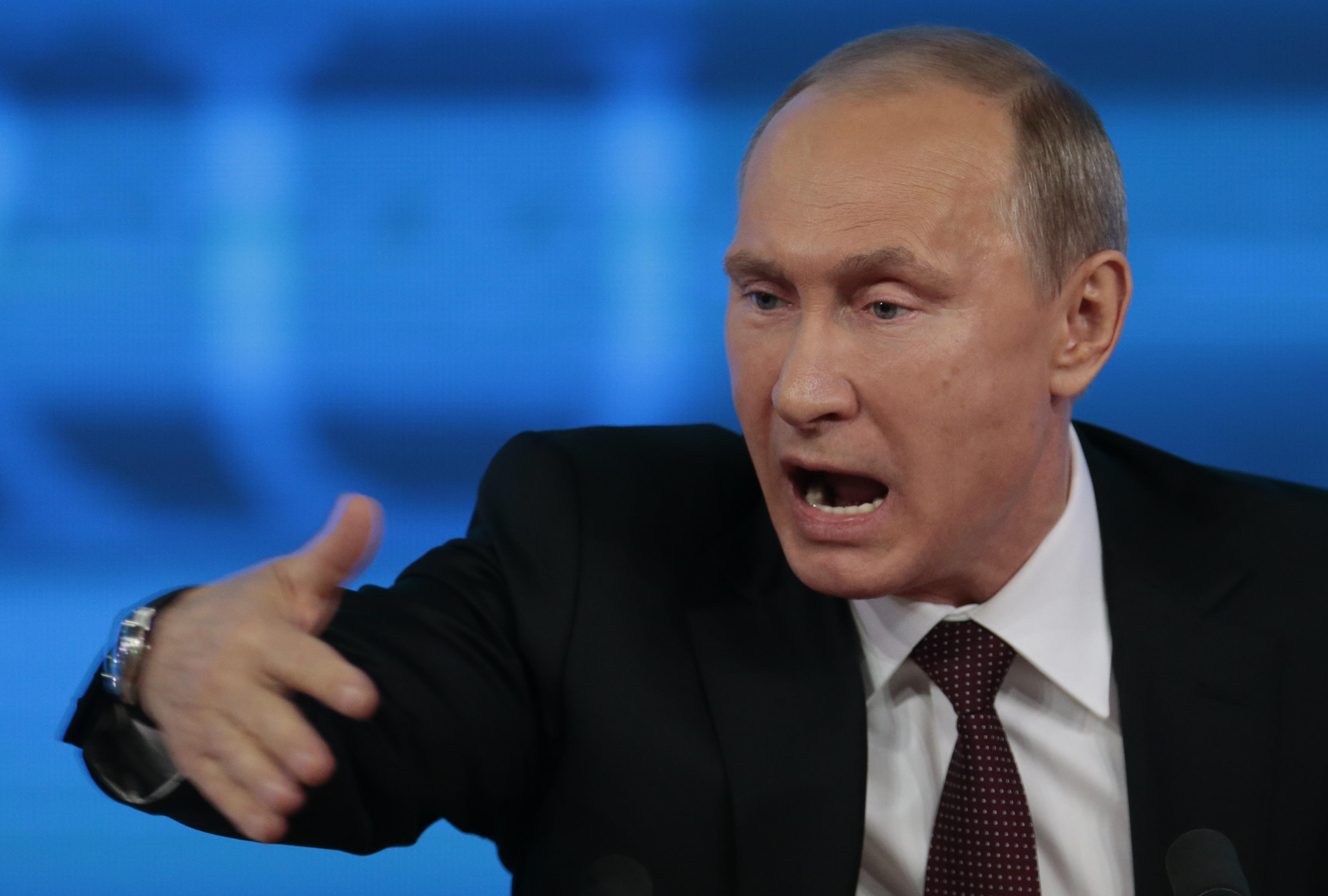 Путин обвинил Украину в терроризме в России