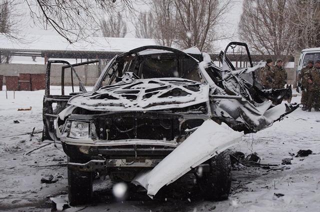 Убийство главаря боевиков «ЛНР»: в сети появилось ВИДЕО с места взрыва