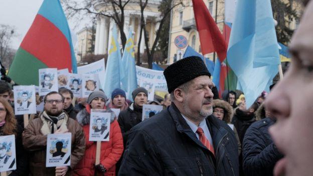 В Киеве состоялся Марш солидарности с крымотатарским народом (ВИДЕО)