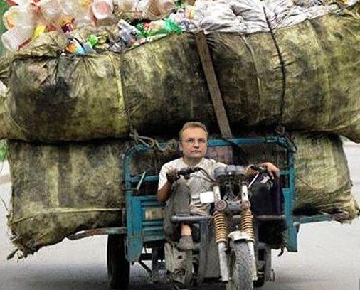 Садовый, ты что издеваешься?!: скандальный мэр Львова хочет снова возить мусор в Грибовичи
