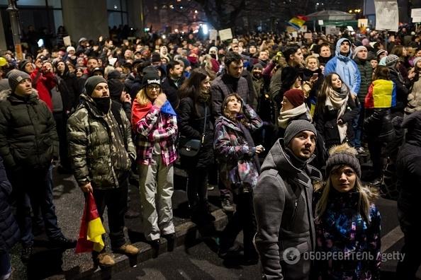 В Румынии назревает революция: на улицы вышли более 500 000 протестующих