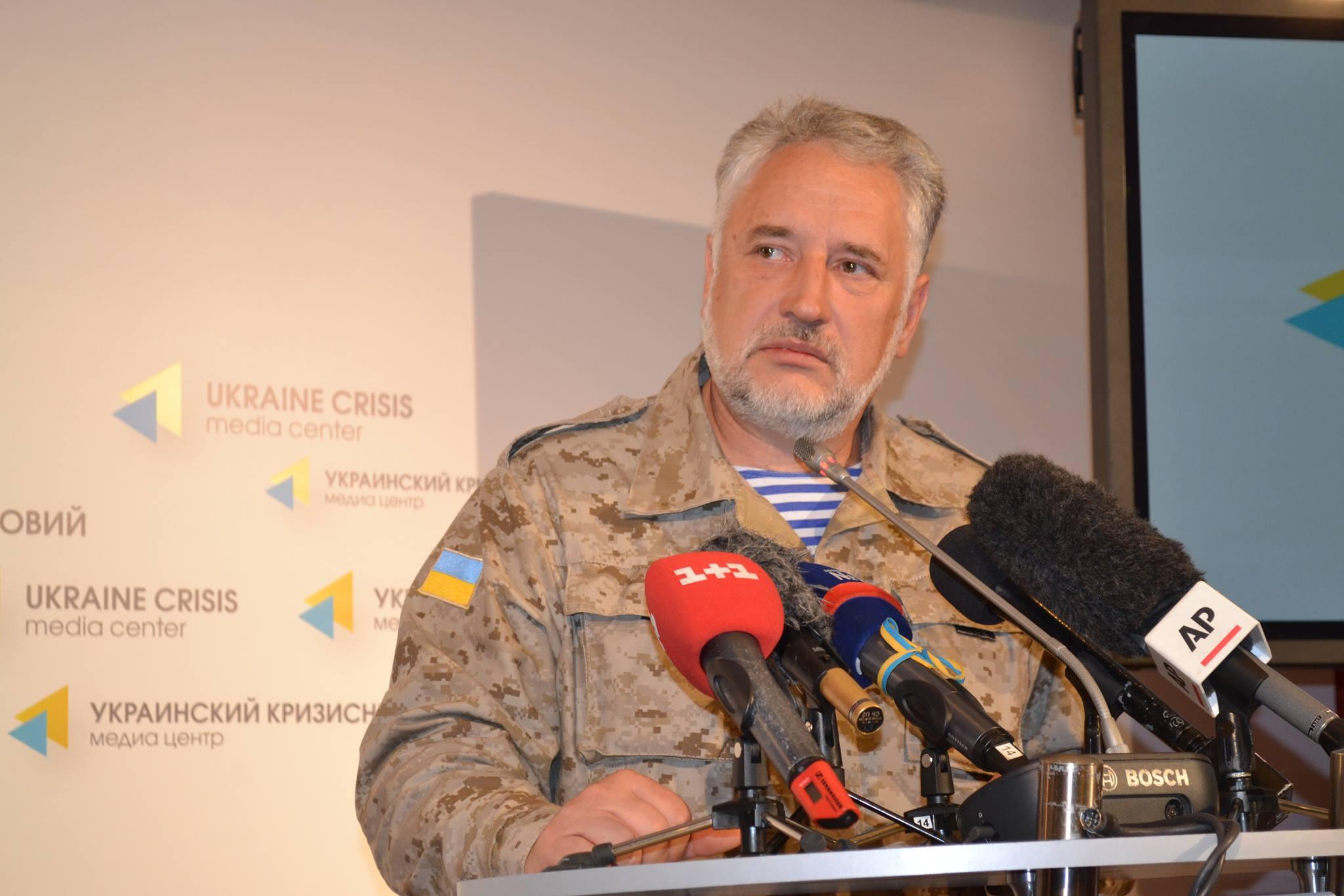 Жебровский сообщил актуальные новости из Авдеевки