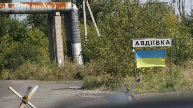 Авдеевка: Боевики начали штурм позиций сил АТО в районе промзоны