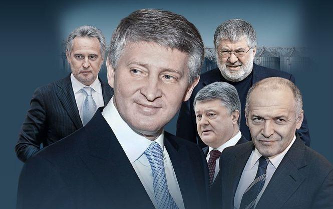 ЗАО Украина: как пять человек монополизировали экономику страны