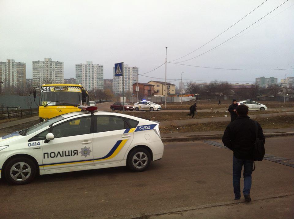 Полиция задержала подозреваемого в зброєному нападении на маршрутку