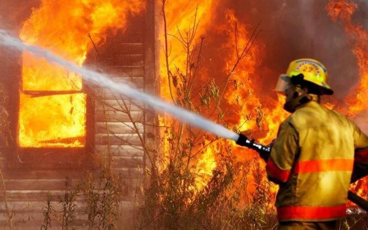 В Полтаве мужчину спасли из пожара