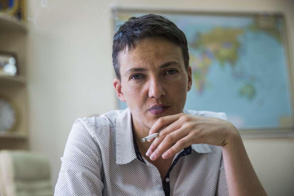 Роковая женщина: Савченко в мини-платье и на каблуках свела всех с ума