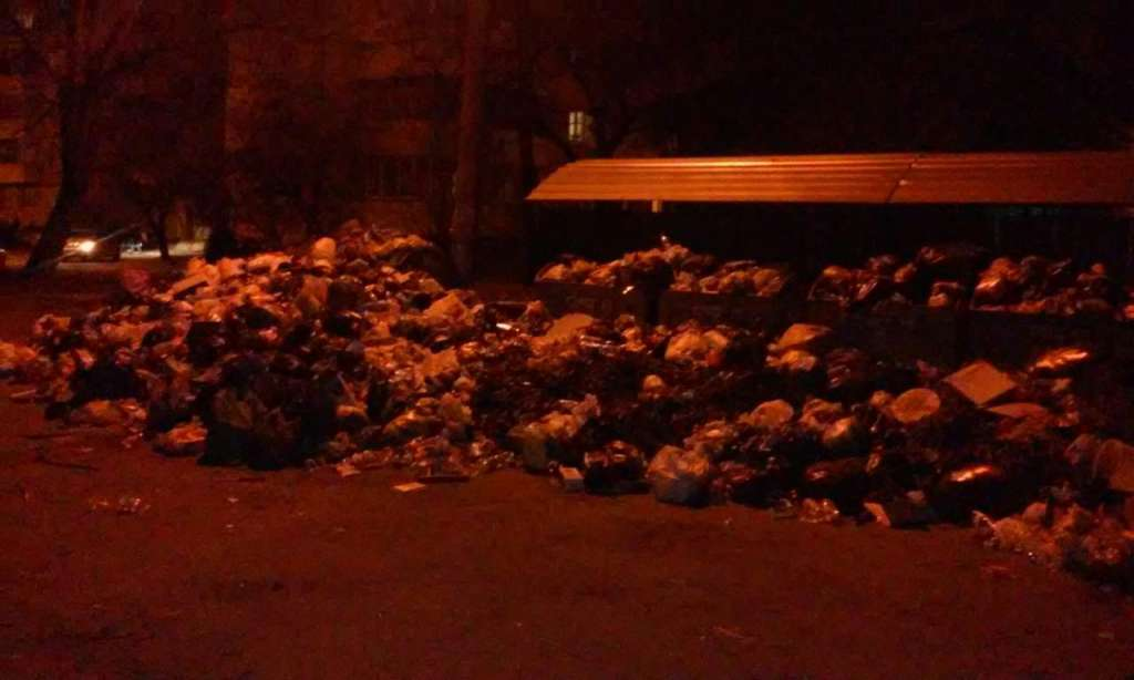 Это когда-нибудь закончится?!: во Львове вновь «вырастают» горы из мусора (ФОТО)