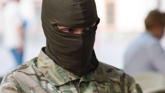 Трассу «Киев-Ковель» перекрыли люди в балаклавах
