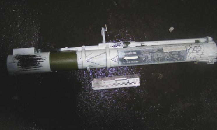 СРОЧНО! С гранатомёта обстреляли здание полиции (ФОТО)