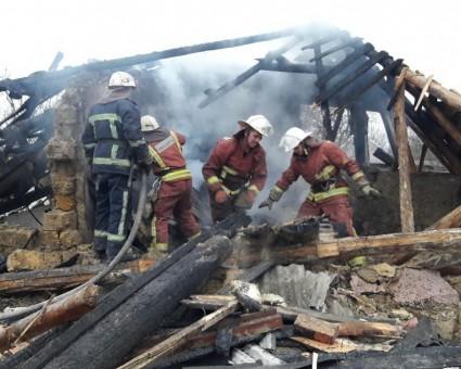 Страшный взрыв: В Харькове разрушен жилой дом