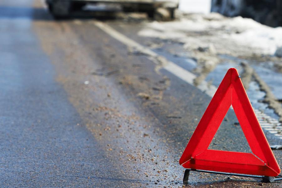 В центре Львова водитель сбил мужчину и скрылся с места ДТП