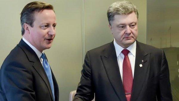 Касается каждого украинца!!! Стало известно о чем договорились Порошенко и Кэмерон