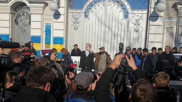 «Призываем президента открыть глаза»: «Автомайдан» едет к Порошенко
