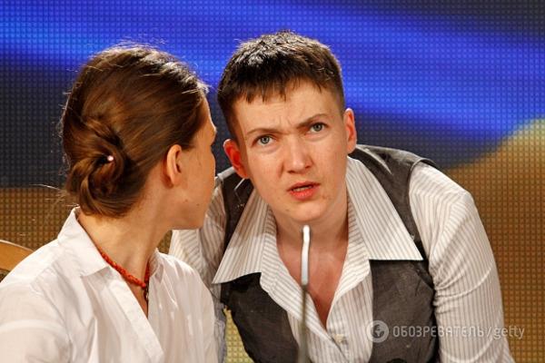Еще та модница: Савченко рассказала о «итальянском» пуховике и эксклюзивных туфлях