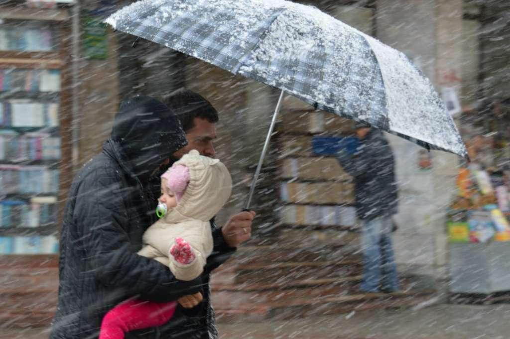 Просто УЖАС! На Украину надвигается атмосферный фронт с дождями и снегом