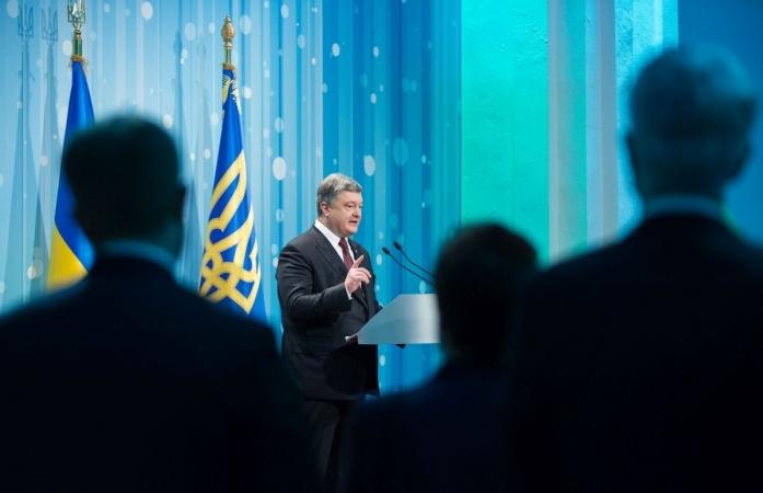 Важно!!! Порошенко анонсировал новый закон по Донбассу