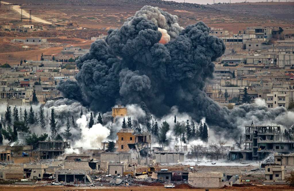 В Сирии снова война, большие бои под Дамаском