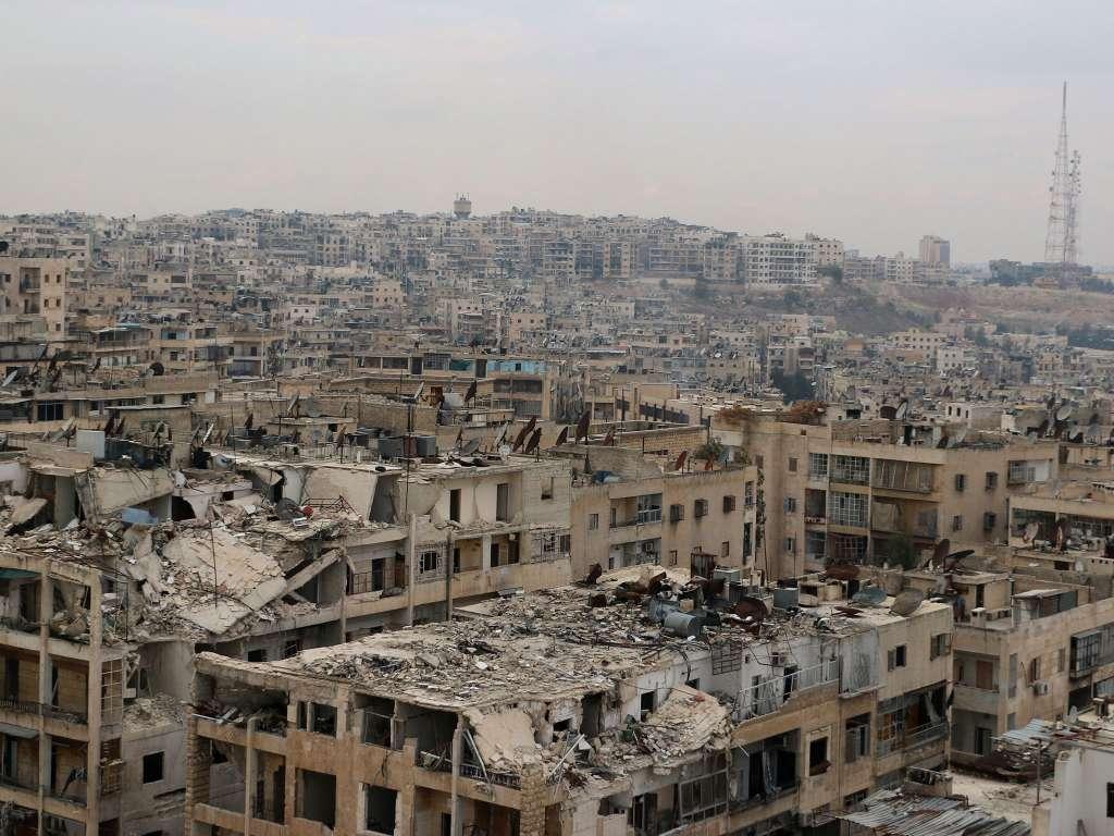 Удар по мечети: 40 погибших в Алеппо (ФОТО)
