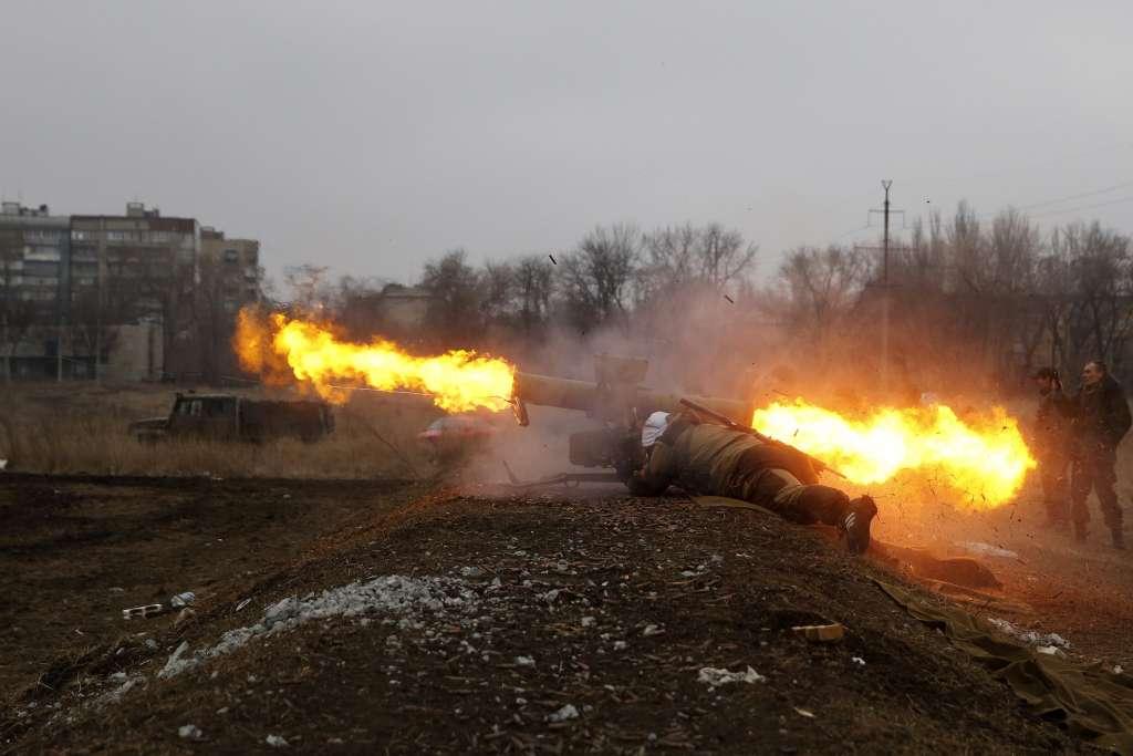 Представитель АТО: «С начала суток боевики 85 раз обстреляли войска Вооруженных Сил Украины»