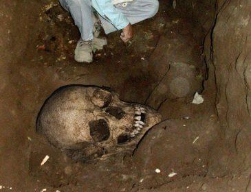 Вот так находка: в Кременчуге обнаружены останки костей человека
