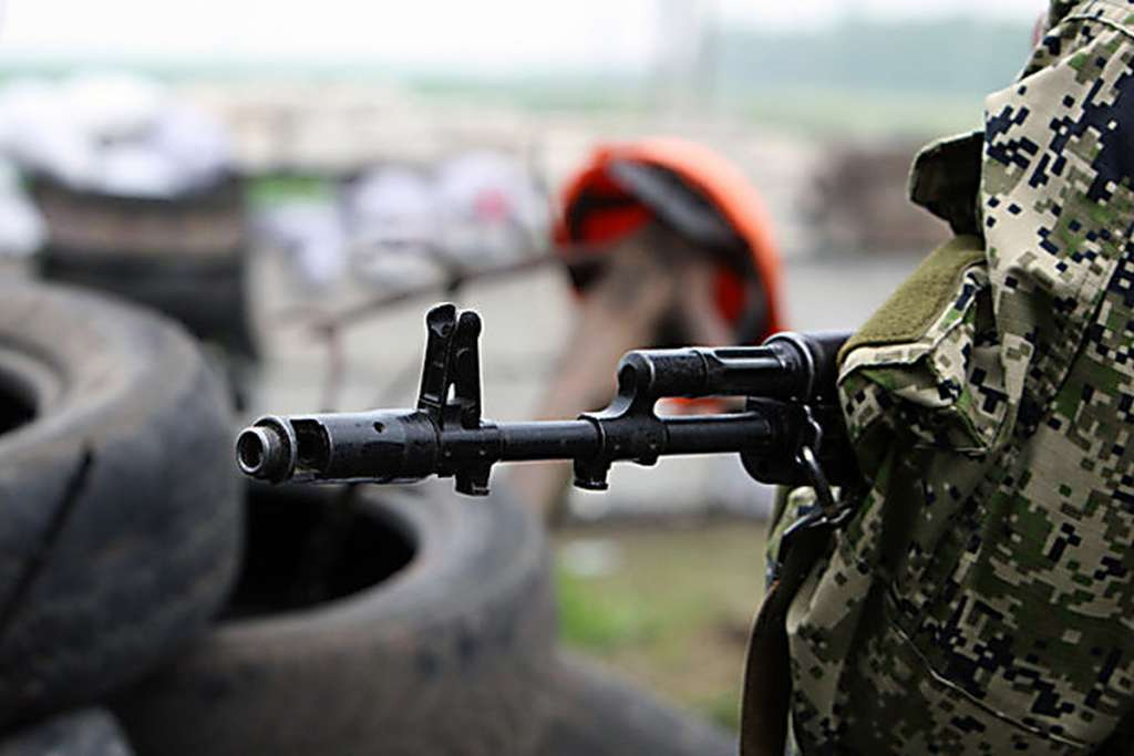 В Москве путинские «волки» митинговали в поддержку боевиков Донбасса