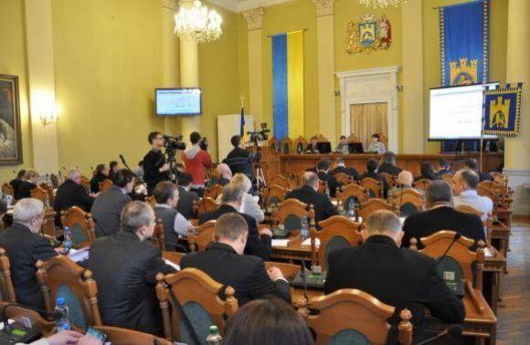 Львовский городской совет принял обращение к государственной власти о блокаде