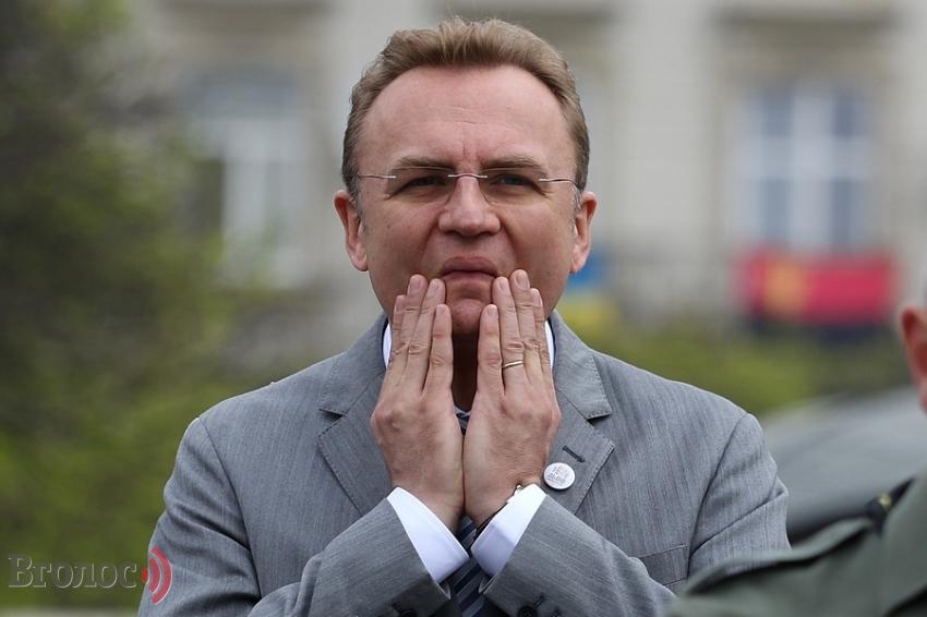 Вляпался по самые уши: мэр Львова Садовый снова оскандалился (ФОТО)