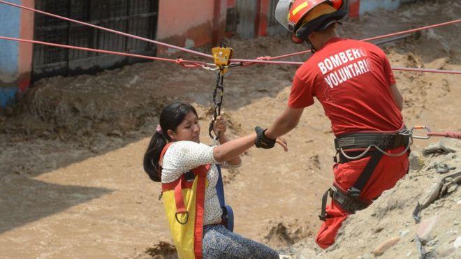 Сильнейшее за последние 20 лет наводнение в Перу унесло жизни 72 человек (ВИДЕО)