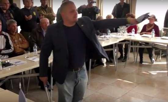 ВСЕМ В ПРИМЕР: Как мэр Конотопа Артем Семенихин с «позором» выгнал кума Путина из города (ВИДЕО)