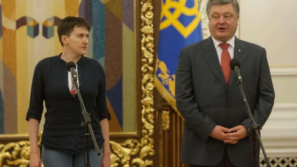 «Лучше он принял би закон против себя»- Савченко «утерла нос» Порошенко!» заблокирована